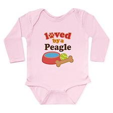 Peagle lover Long Sleeve Infant Bodysuit