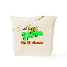 El Mejor Padre Tote Bag