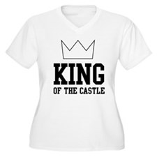 King of the castle Plus Size T-Shirt