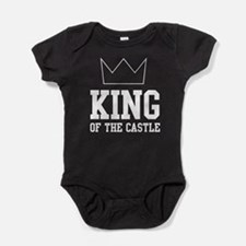 King of the castle Baby Bodysuit