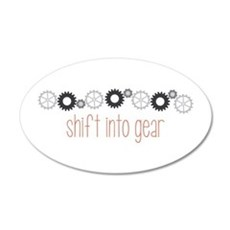 Shift into Gear Wall Decal