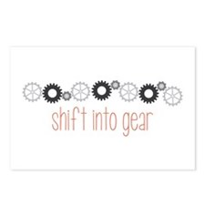 Shift into Gear Postcards (Package of 8)