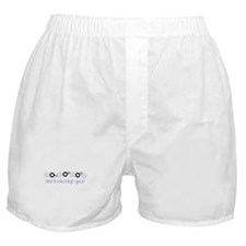 kick it into high gear Boxer Shorts