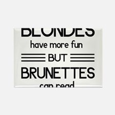 Blondes Have More Fun But Brunettes Can Read Magne