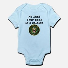 My Aunt Is A Soldier US Army Body Suit