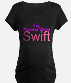 Im Proud of Being Swiftie Maternity T-Shirt