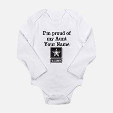 Im Proud Of My Aunt US Army Body Suit