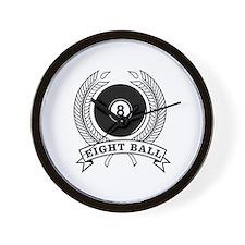 Billiards Pool 8-ball Wall Clock