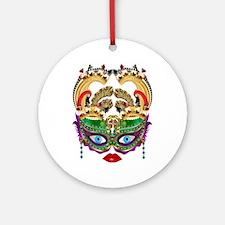 Casino Queen Ornament (round)