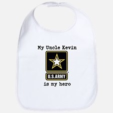 My Uncle Is My Hero US Army Bib