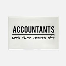 Accountants work assets off Magnets