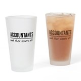 Accountant Pint Glasses