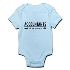 Accountants work assets off Body Suit