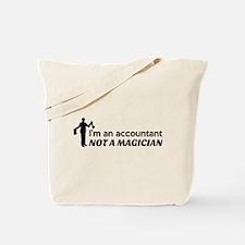 Accountant not magician Tote Bag