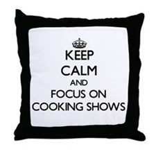 Unique I love food network Throw Pillow