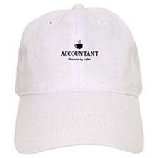 Accountant powered coffee Baseball Baseball Cap