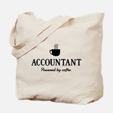 Accountant powered coffee Tote Bag