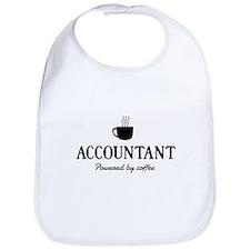 Accountant powered coffee Bib