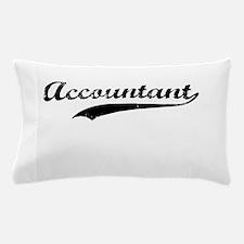 Accountant swoosh Pillow Case