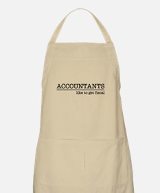 Accountants like to get fiscal Apron