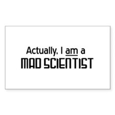 Actually I am a mad scientist Decal