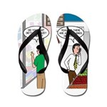 Men Shopping Flip Flops