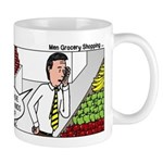 Men Shopping Mug