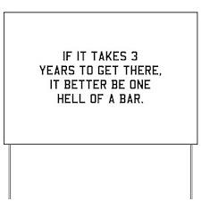 Bar exam Yard Sign