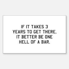 Bar exam Decal