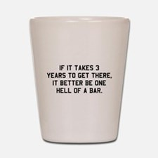 Bar exam Shot Glass
