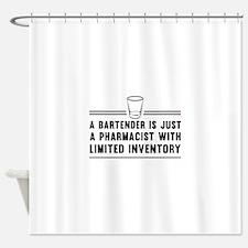 Bartender pharmacist Shower Curtain