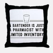 Bartender pharmacist Throw Pillow