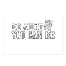 Be audit you can be Postcards (Package of 8)