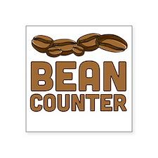 Bean counter Sticker