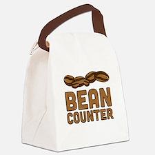 Bean counter Canvas Lunch Bag