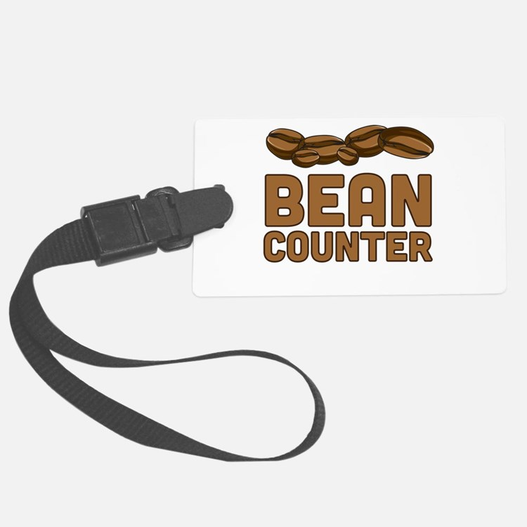 Bean counter Luggage Tag