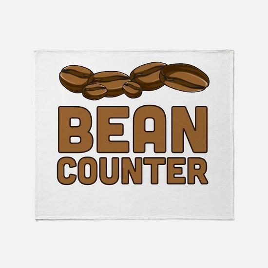 Bean counter Throw Blanket