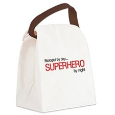 Biologist day hero night Canvas Lunch Bag
