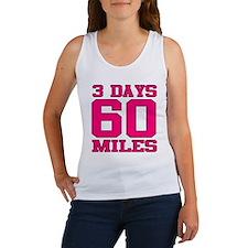 3 Days 60 Miles Tank Top