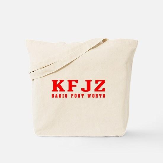 KFJZ Ft Worth '62 -  Tote Bag