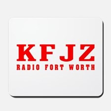 KFJZ Ft Worth '62 -  Mousepad
