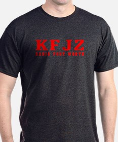 KFJZ Ft Worth '62 -  T-Shirt