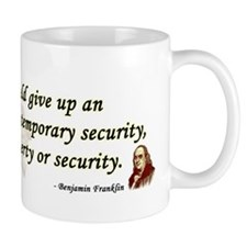 Ben Franklin - Essential Liberty Mug
