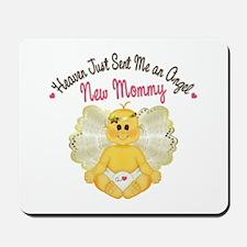 New Baby Angel Mousepad
