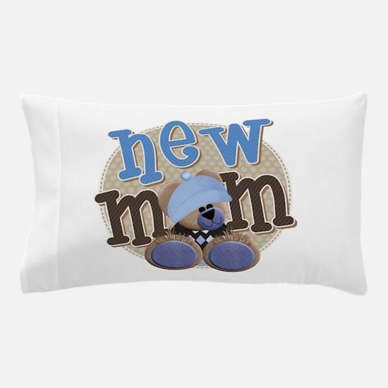 New Mom Teddy Pillow Case