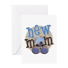 New Mom Teddy Greeting Card