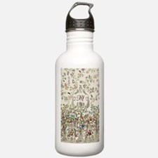 Customizable Rococo Mo Sports Water Bottle