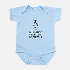 Keep Calm I'm a Collegiate Wrestling Instructor Bo
