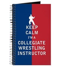 Keep Calm I'm a Collegiate Wrestling Instructor Jo