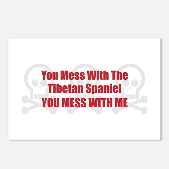 Mess With Tibbie Postcards (Package of 8)
